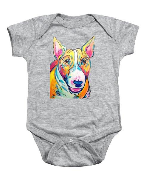 Bull Terrier Baby Onesie