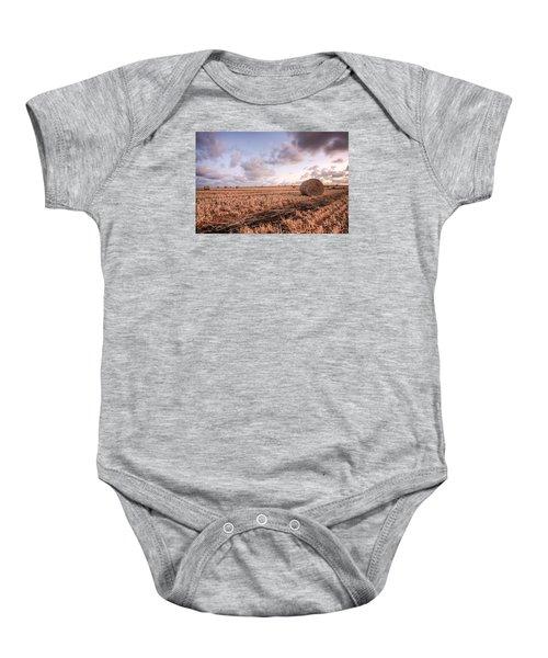Bundy Hay Bales #2 Baby Onesie