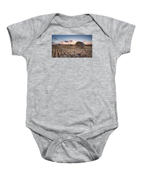 Bundy Hay Bales #4 Baby Onesie