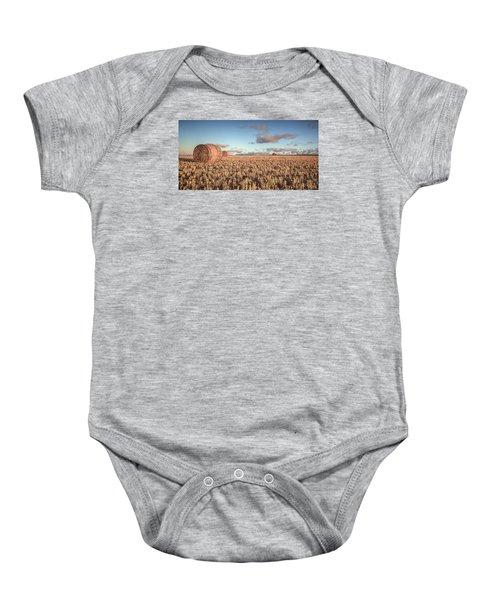 Bundy Hay Bales #6 Baby Onesie