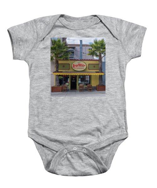 Burgermeister Restaurant, San Francisco Baby Onesie