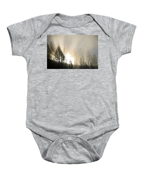 Burning Through The Fog Baby Onesie