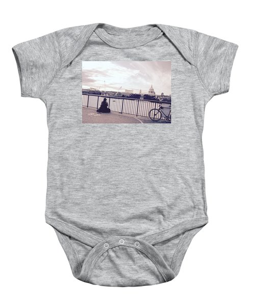 Busking Place Baby Onesie
