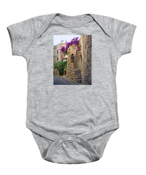 Bussana Vecchia Street Baby Onesie
