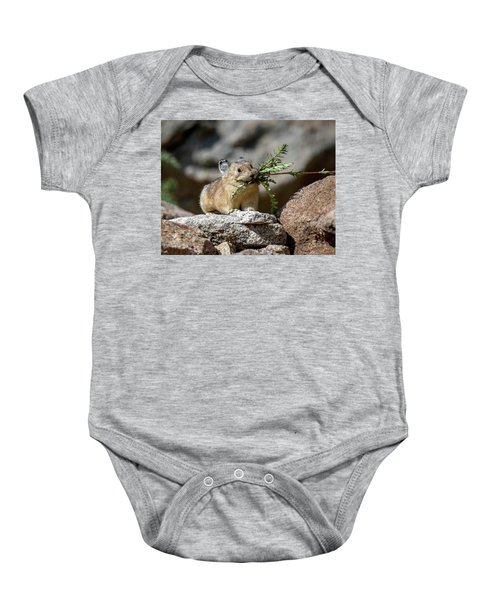 Busy As A Pika Baby Onesie