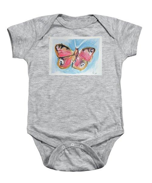 Butterfly 3 Baby Onesie