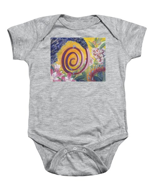 Butterfly's 'tongue' Baby Onesie