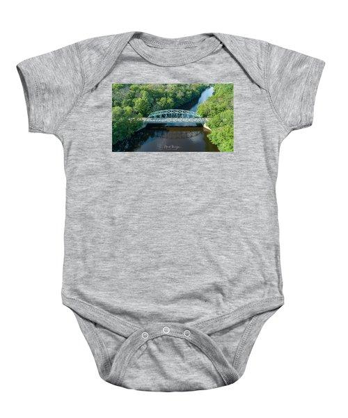 Butts Bridge Summertime Baby Onesie