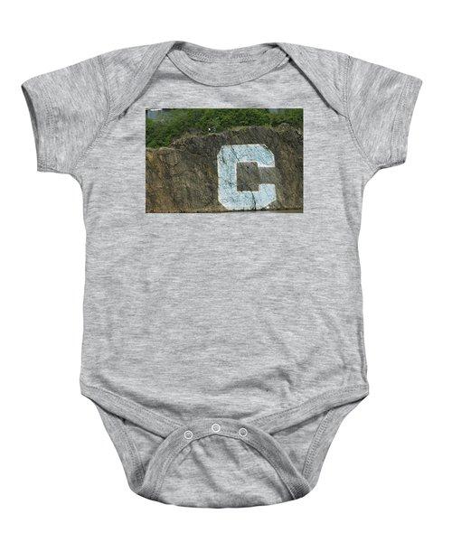 C Rock Of Columbia University Baby Onesie