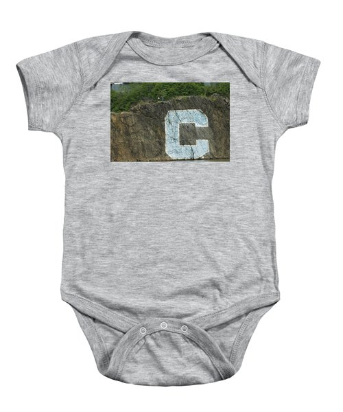 C Rock Of Columbia University Baby Onesie
