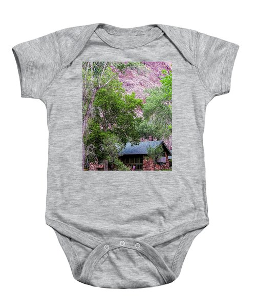 Cabin At Phantom Ranch Baby Onesie