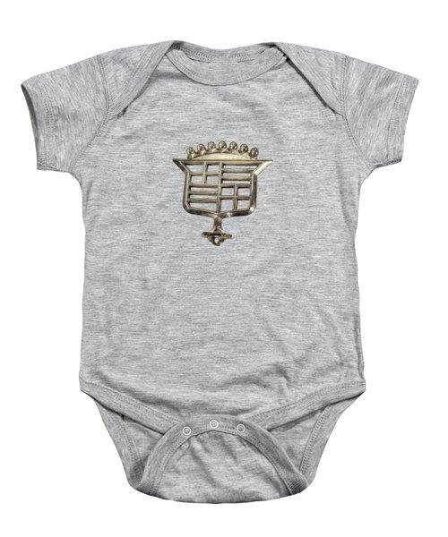 Cadillac Emblem Baby Onesie