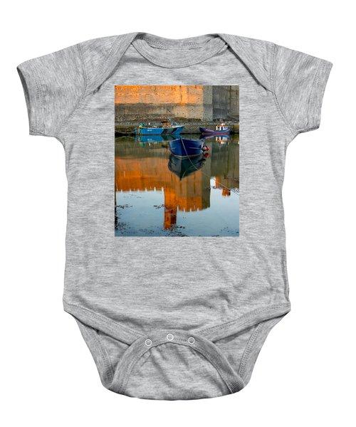 Caernarfon Reflections Baby Onesie