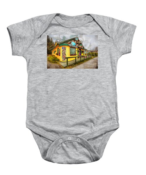 Cafe Cups Baby Onesie