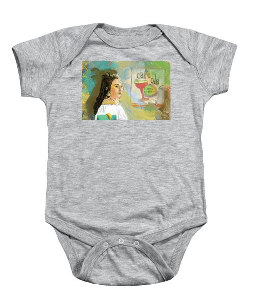 Cafe Ole Girl Baby Onesie