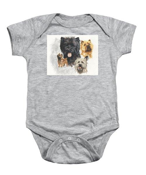 Cairn Terrier Revamp Baby Onesie