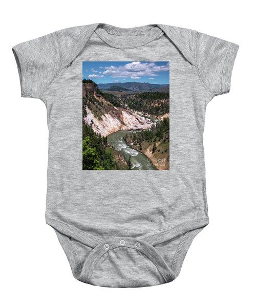 Calcite Springs Overlook  Baby Onesie