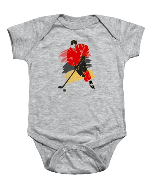 Calgary Flames Player Shirt Baby Onesie