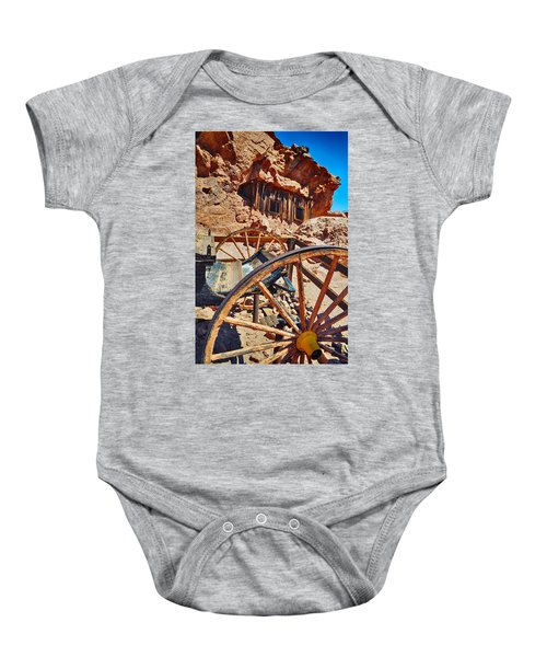 Calico Ghost Town Mine Baby Onesie