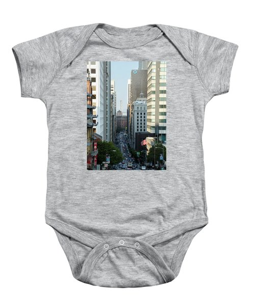 California Street San Francisco Baby Onesie
