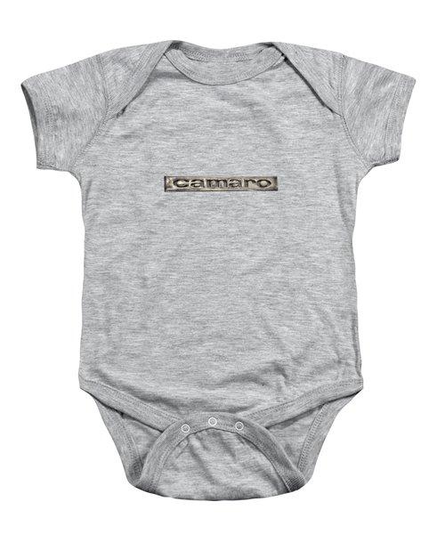 Camaro Emblem Baby Onesie