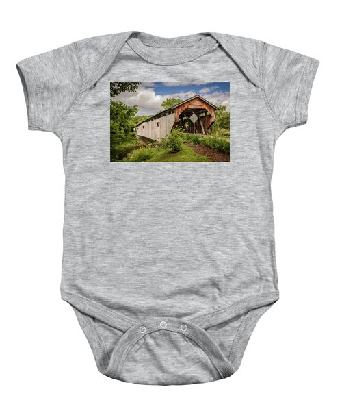 Cambridge Junction Bridge Baby Onesie