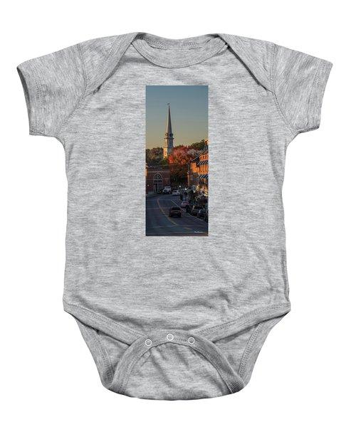 Camden Steeple Baby Onesie