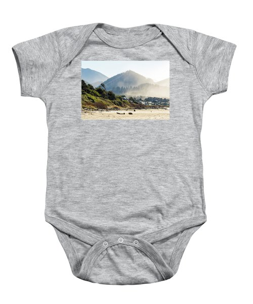 Cannon Beach Oceanfront Vacation Homes Baby Onesie
