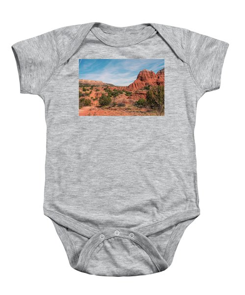 Canyon Hike Baby Onesie