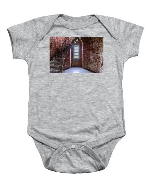 Cape Blanco Lighthouse Baby Onesie