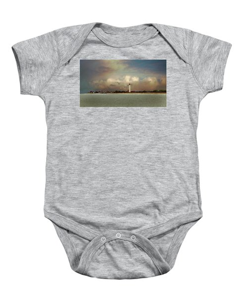 Cape May Lighthouse II Baby Onesie