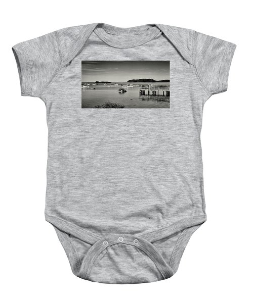 Cape Porpoise Harbor Baby Onesie