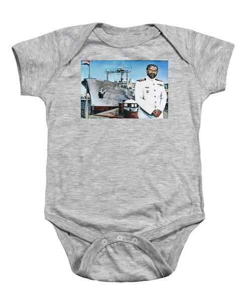 Capt Eric Green Baby Onesie