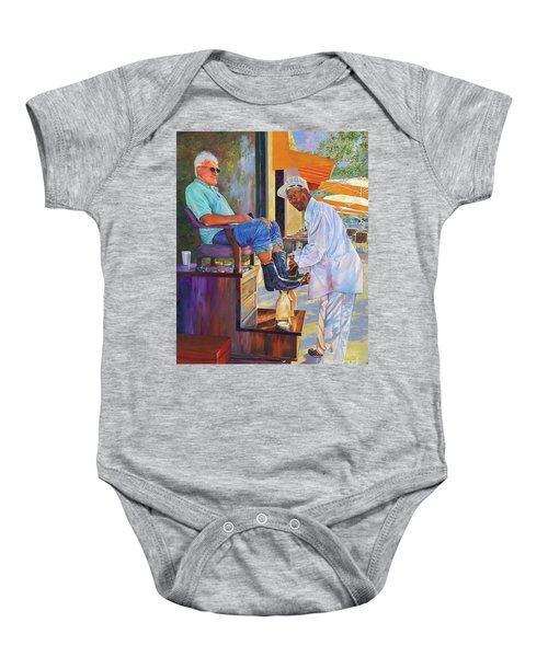 Captain Shoe Shine Baby Onesie