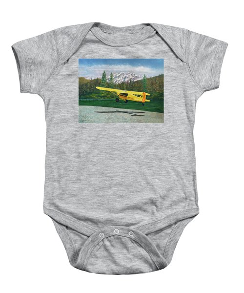 Carbon Cub Riverbank Takeoff Baby Onesie