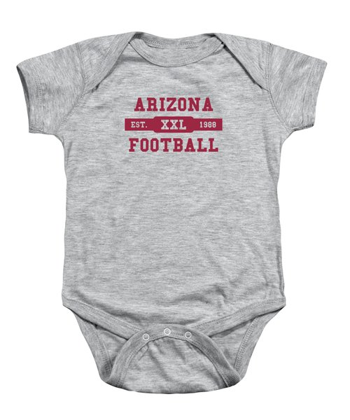 Cardinals Retro Shirt Baby Onesie by Joe Hamilton