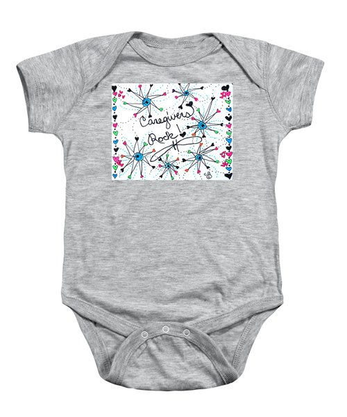 Caregivers Rock Baby Onesie