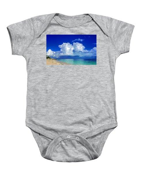Caribbean Clouds Baby Onesie