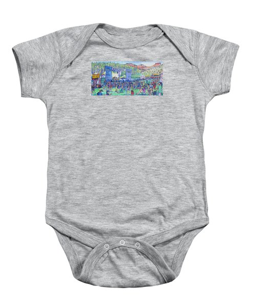 Caribou Mountain Collective At Yarmonygrass Baby Onesie
