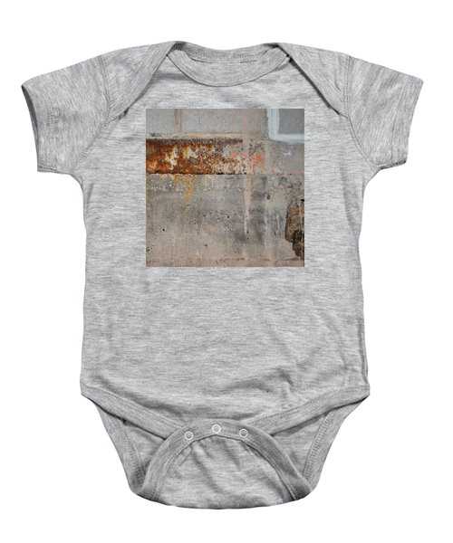 Carlton 16 Concrete Mortar And Rust Baby Onesie