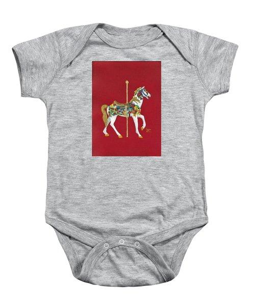 Carousel Horse #2 Baby Onesie