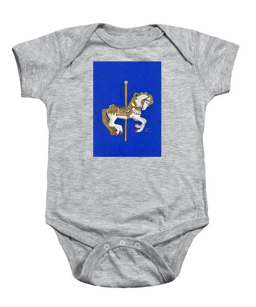 Carousel Horse #3 Baby Onesie