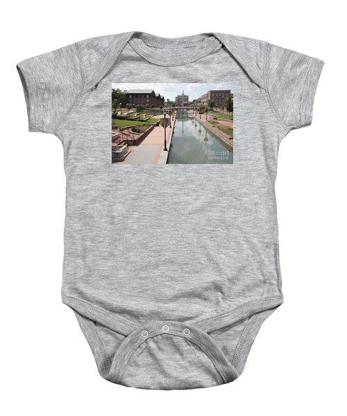 Carroll Creek Park In Frederick Maryland Baby Onesie