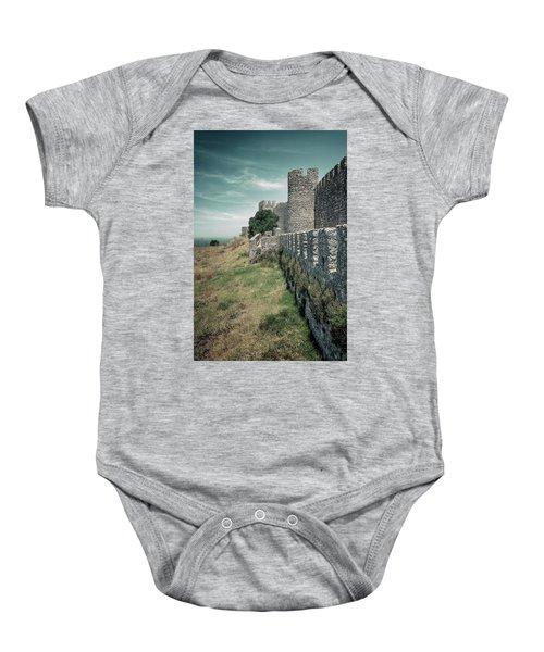 Castle Of Santiago Do Cacem Baby Onesie