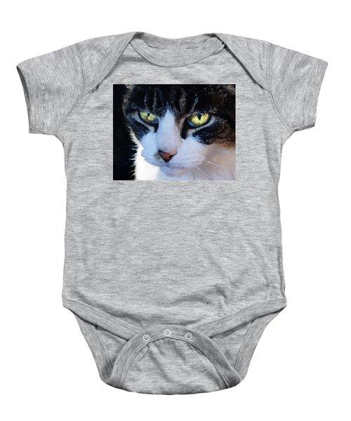 Cat Eyes Baby Onesie