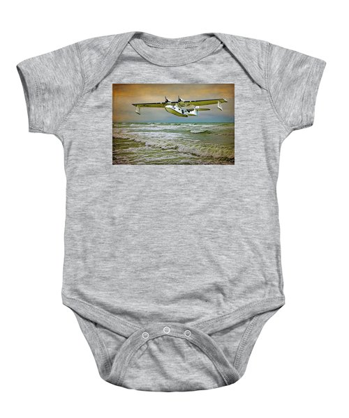 Catalina Flying Boat Baby Onesie
