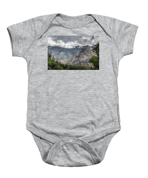 Catalina Mountains Baby Onesie
