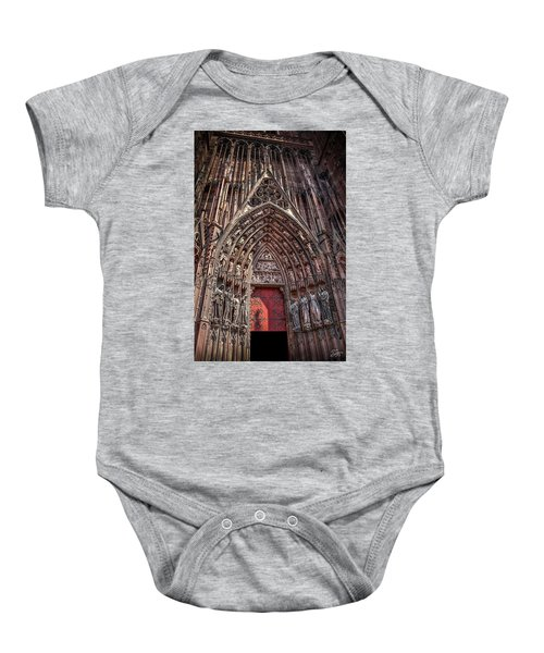Cathedral Entance Baby Onesie