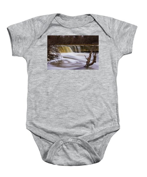 Caught In A Spin Baby Onesie