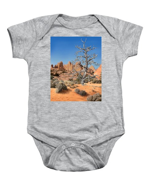 Caught In Your Dying Arms Baby Onesie